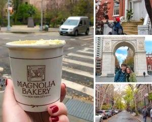 Tour A Grande Maçã em Nova York Banana Pudding Magnolia Bakery
