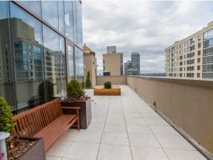 Rooftop no 22º Homewood Suites by Hilton New York/Midtown Manhattan Times Square-South