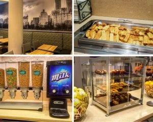 Café da manhã - Homewood Suites by Hilton New York/Midtown Manhattan Times Square-South